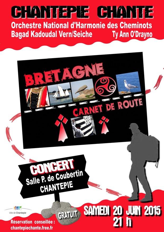 """Spectacle """"Bretagne – carnet de route"""""""