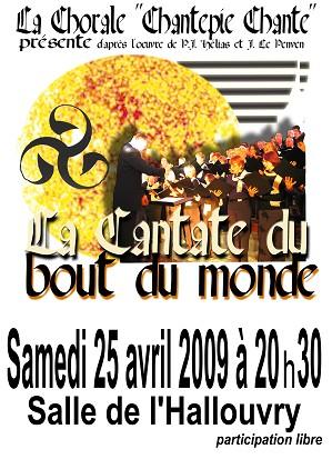 """Spectacle """"La cantate du bout du monde"""""""