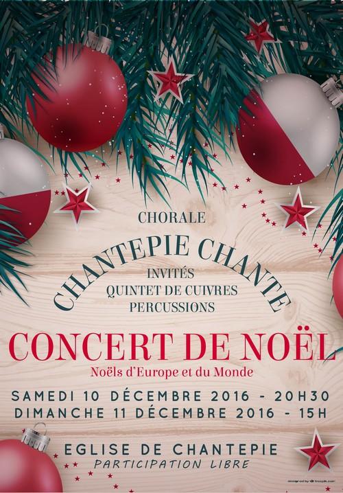 Concerts de Noël 2016